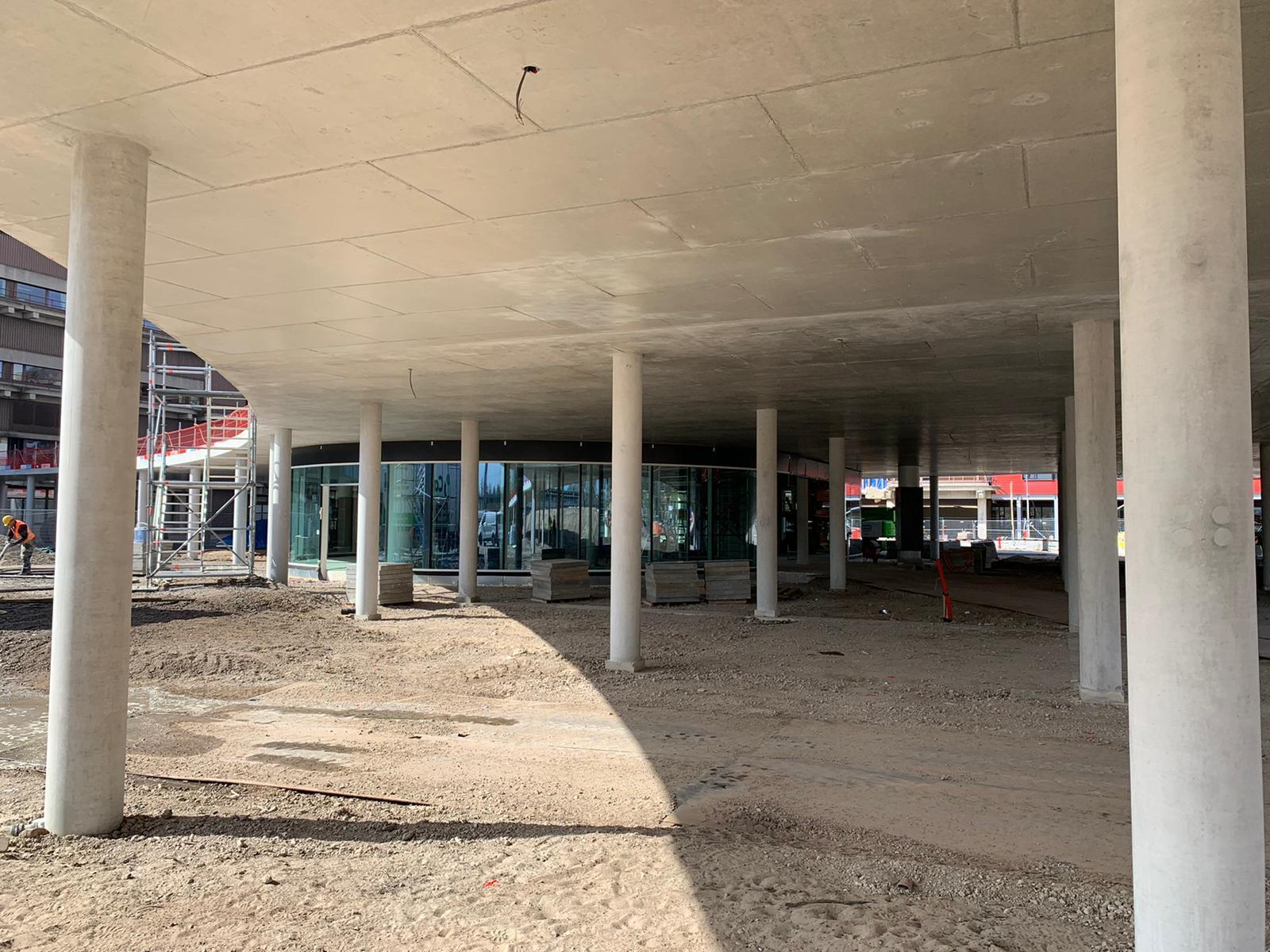 Parkeerruimte entreegebouw AMC