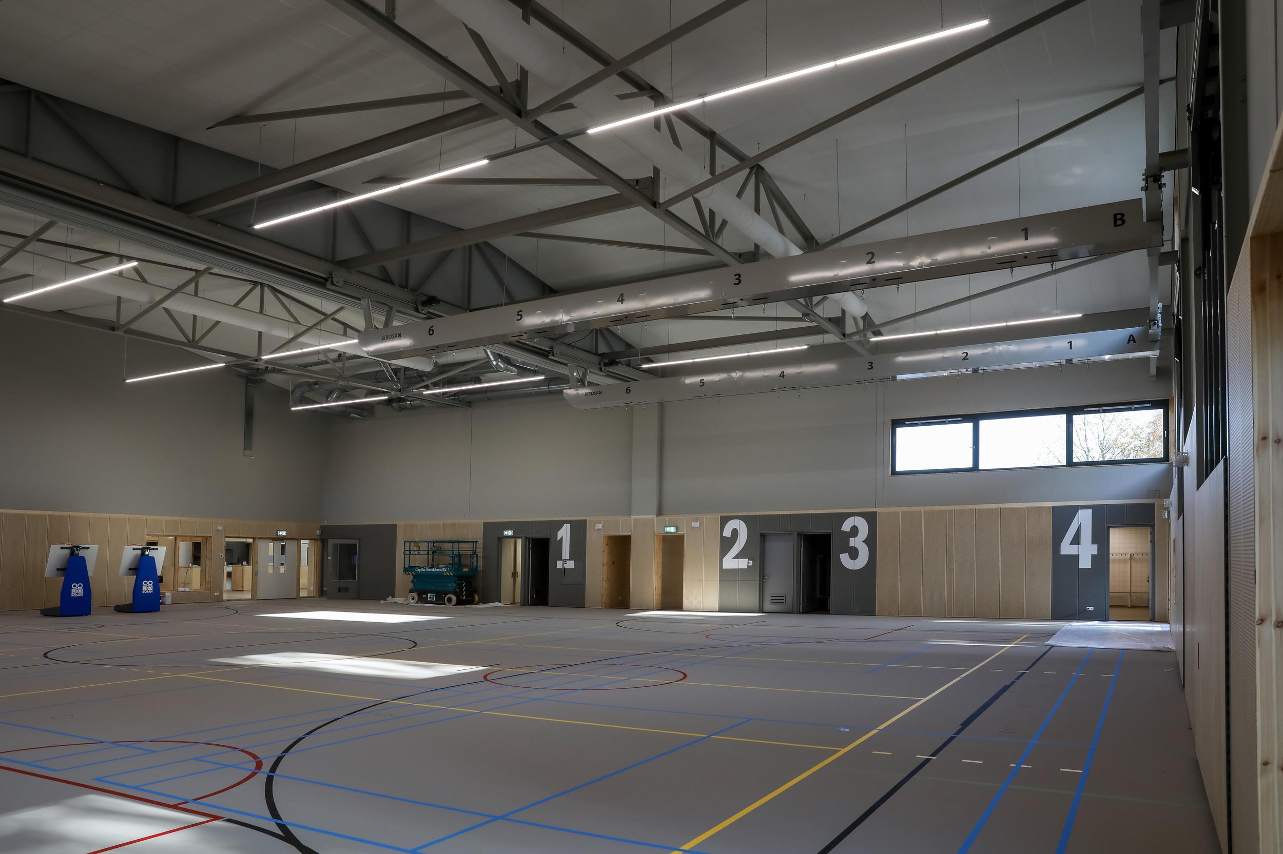 Oplevering gymzaal MFC Rockanje