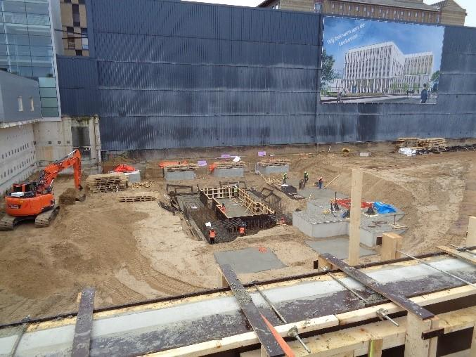 Nieuwbouw gebouw S
