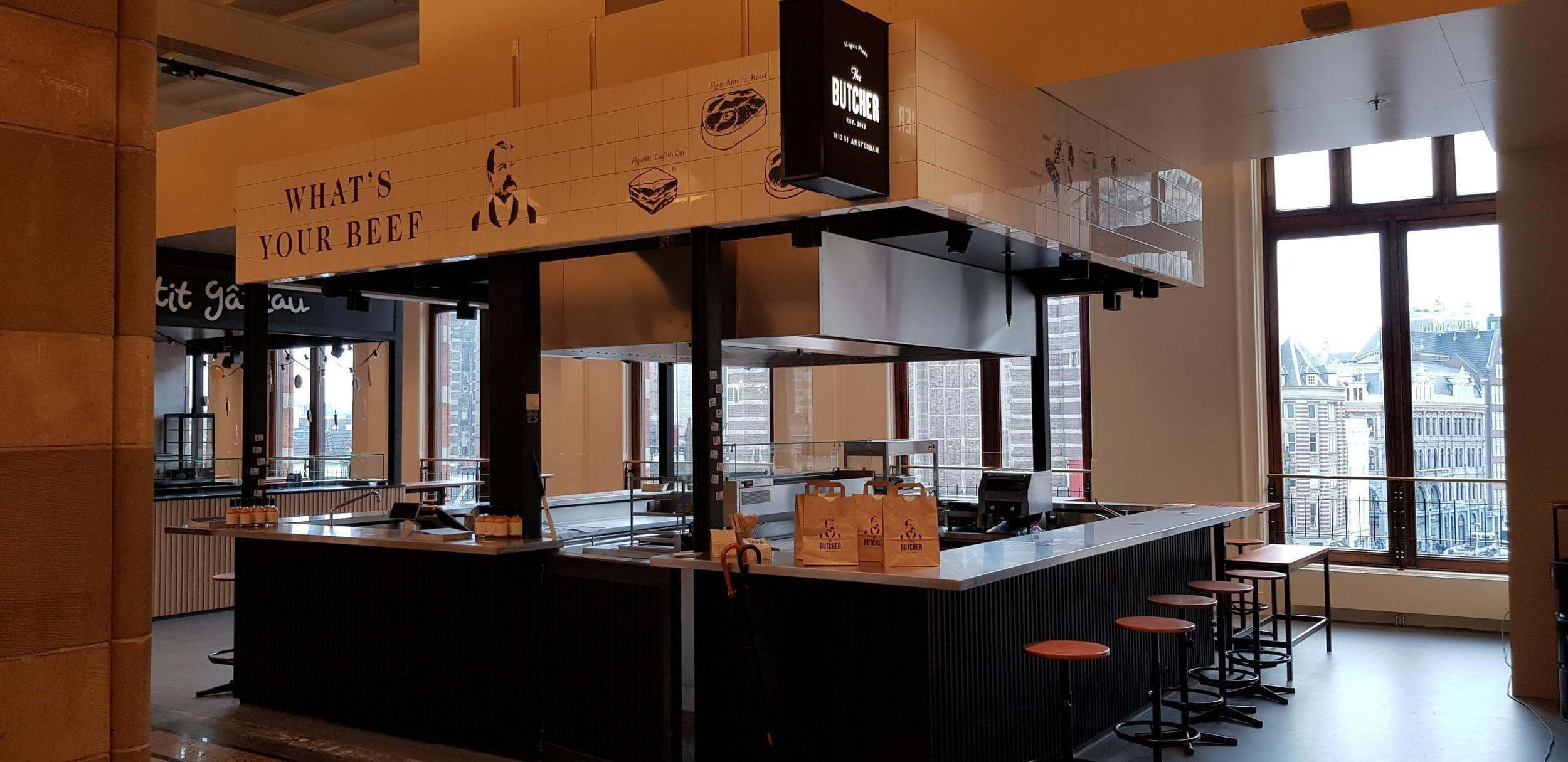 Foodcourt Butcher Magna Plaza