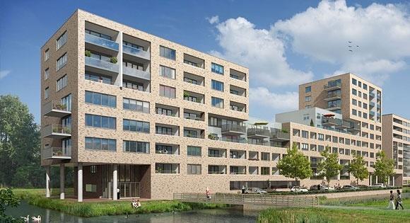nieuwbouw 84 appartementen Appollo Purmerend