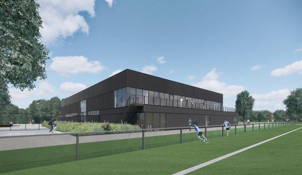 Nieuwbouw sporthal Giessenburg