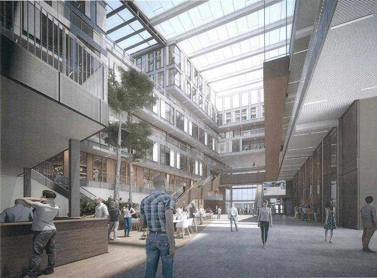 nieuwbouw Het Universiteitsgebouw VU