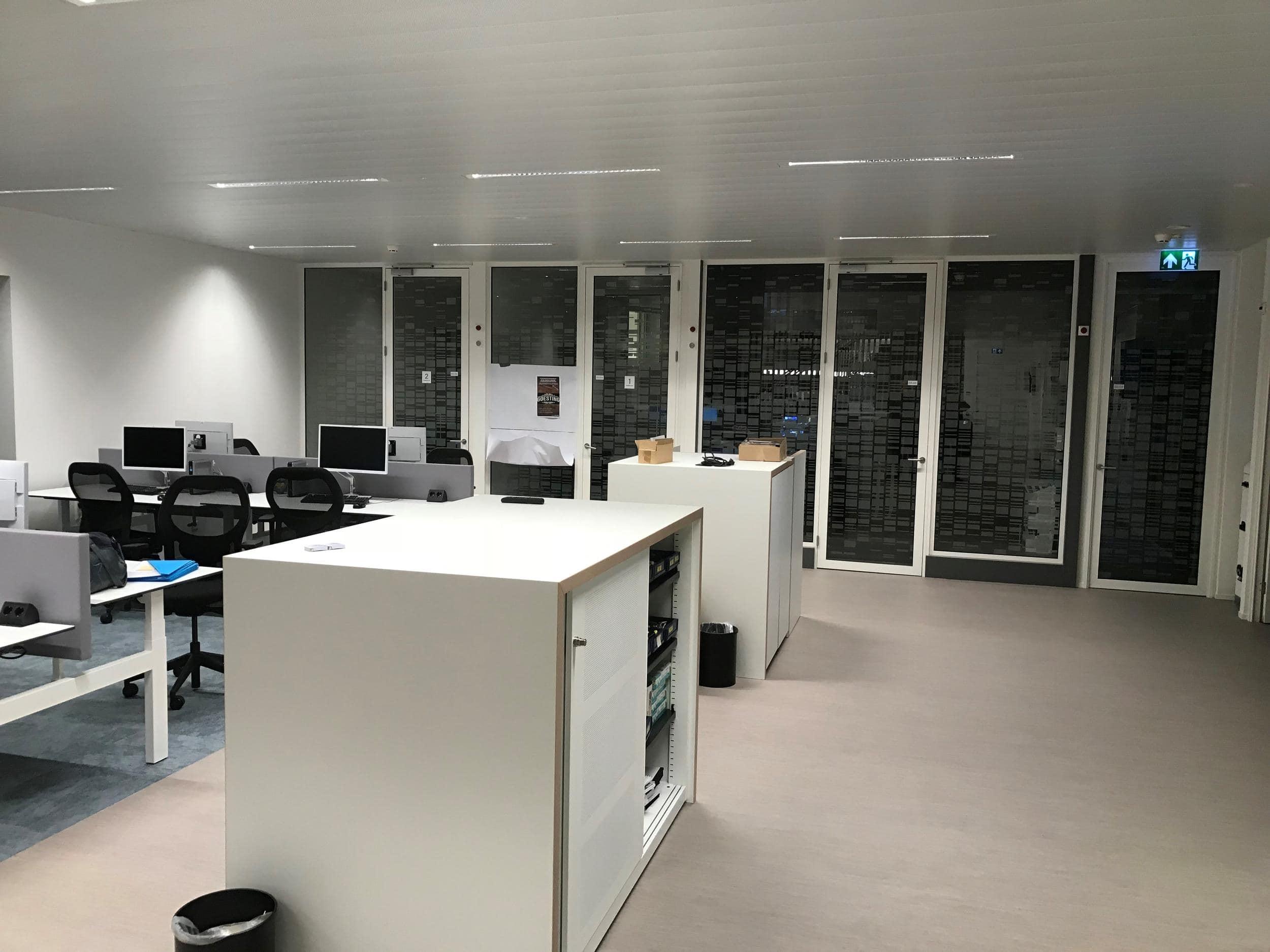 Nieuwe inrichting nieuwbouw politiebureau te Venray