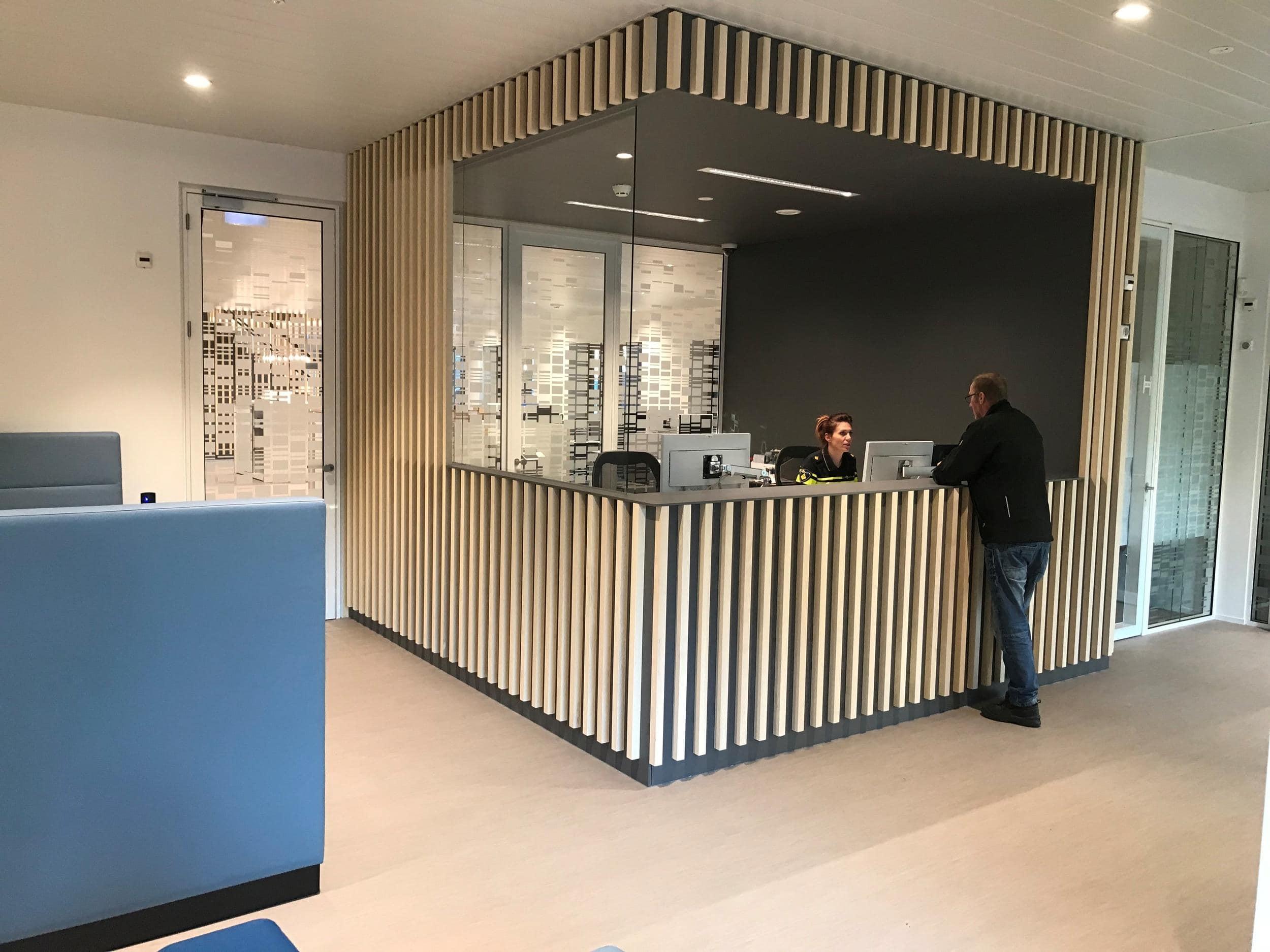 Een moderne entree voor nieuwbouw politiebureau te Venray