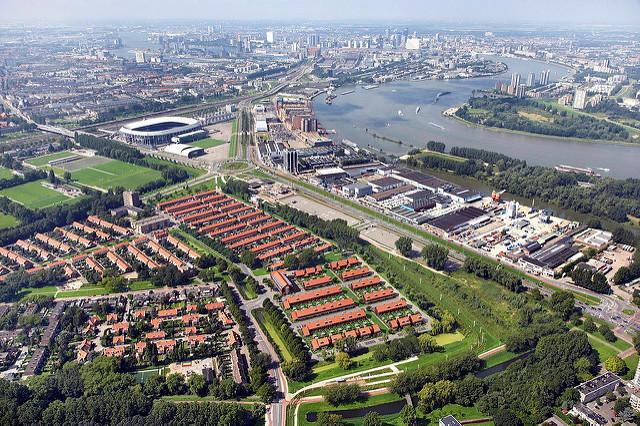 Nieuwbouw 105 woningen Sportdorp IJsselmond