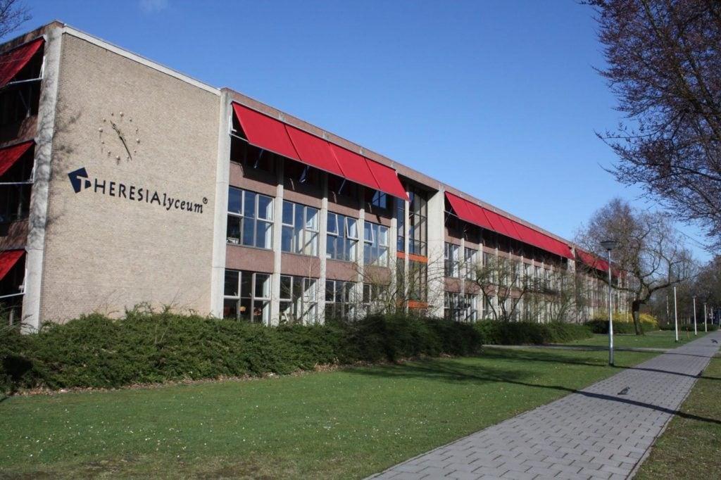 Bestaande bouw Theresialyceum Tilburg