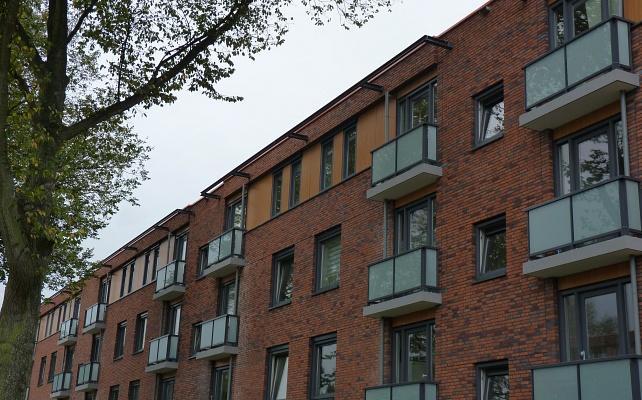 Renovatie flat De Vier Geuzen