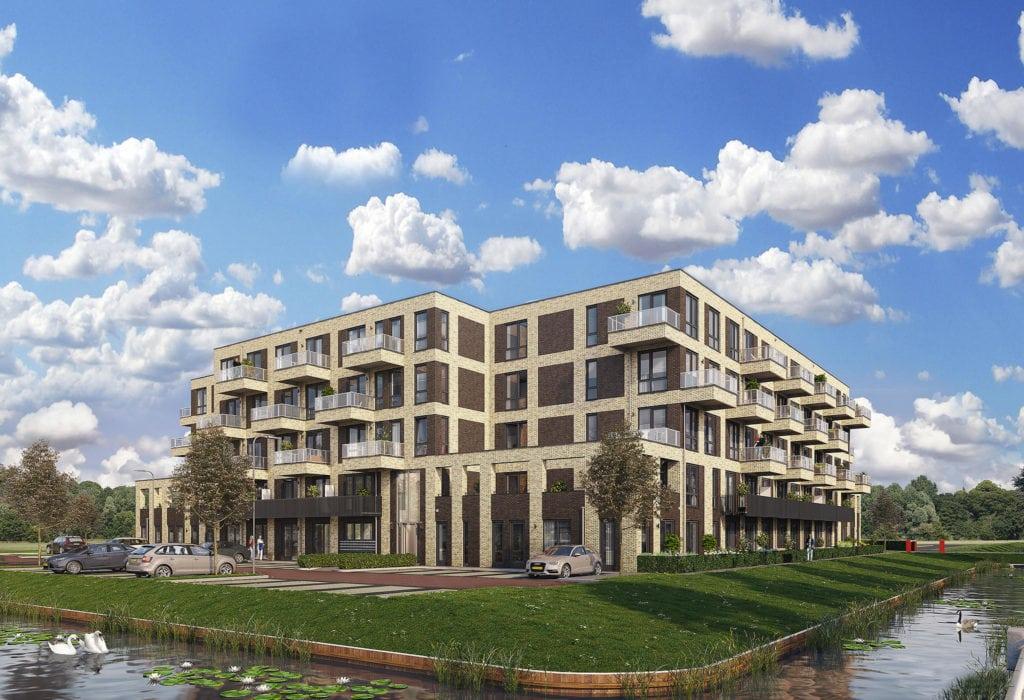Nieuwbouw appartementencomplex Grotenhuyshof
