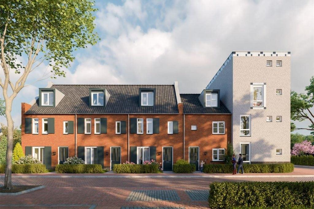 Nieuwbouw woningen Koningsoord te Berkel-Enschot