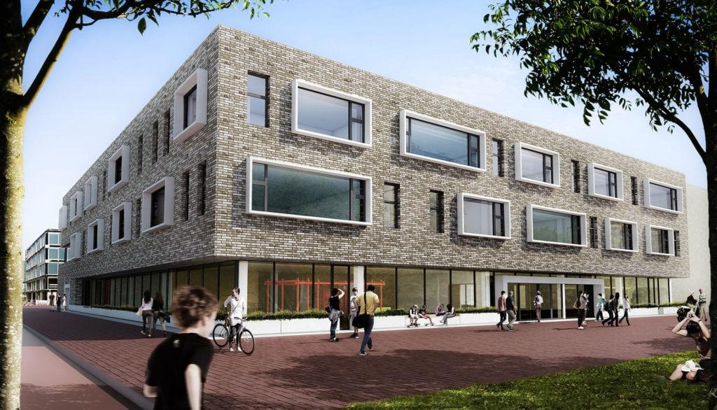 Nieuwbouw Stelle College Zeeburgereiland