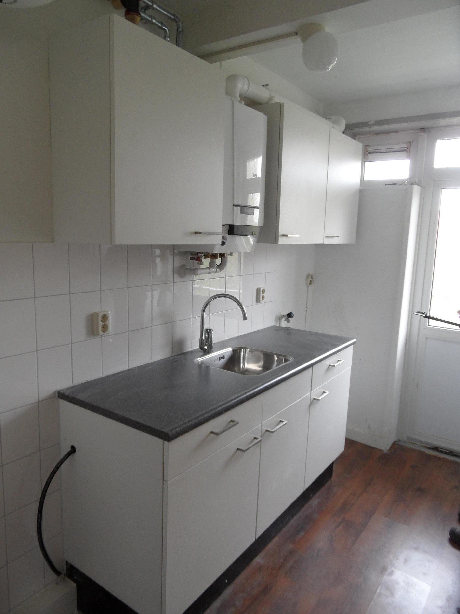 Gerenoveerde keukens aan de Jan van Scorelstraat in Leeuwarden