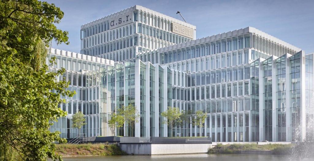 renovatie a.s.r. hoofdkantoor te Utrecht