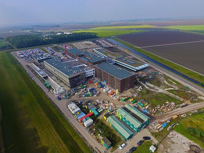 Luchtfoto OZG ziekenhuis Scheemda