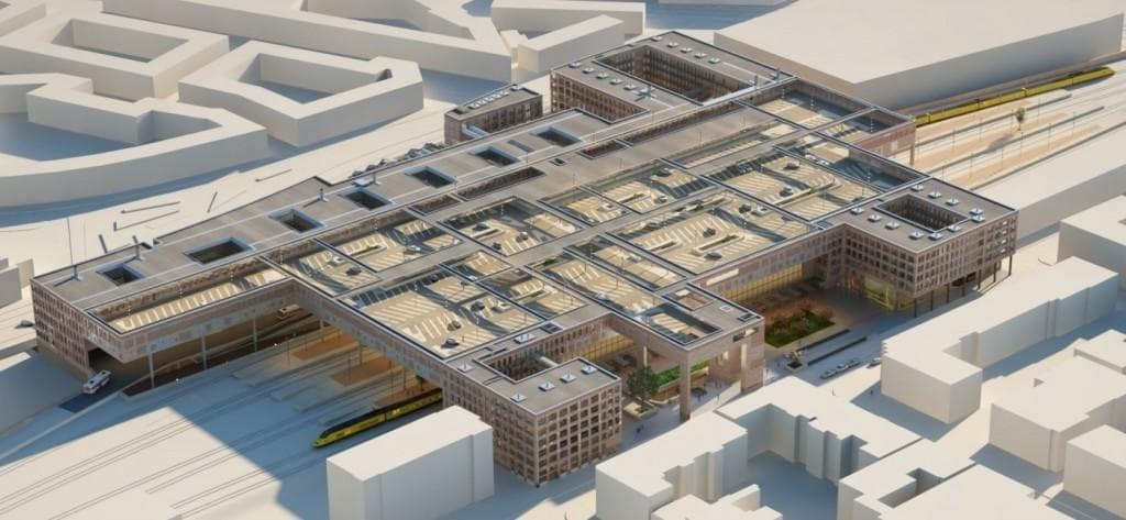 Nieuwbouw OV Terminal Breda