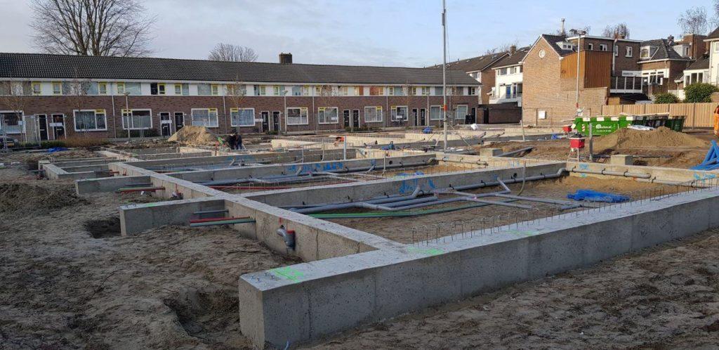 bouw Kloosterkade Delft