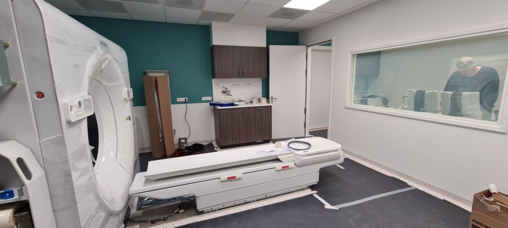 Vernieuwing 4 CT's Radiologie & Radiotherapie